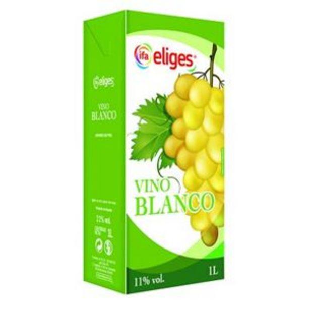 Oferta de Vino blanco 1 l por 0,8€