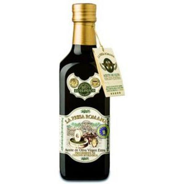 Oferta de Aceite de oliva virgen extra ecológico 500 ml por 4,99€