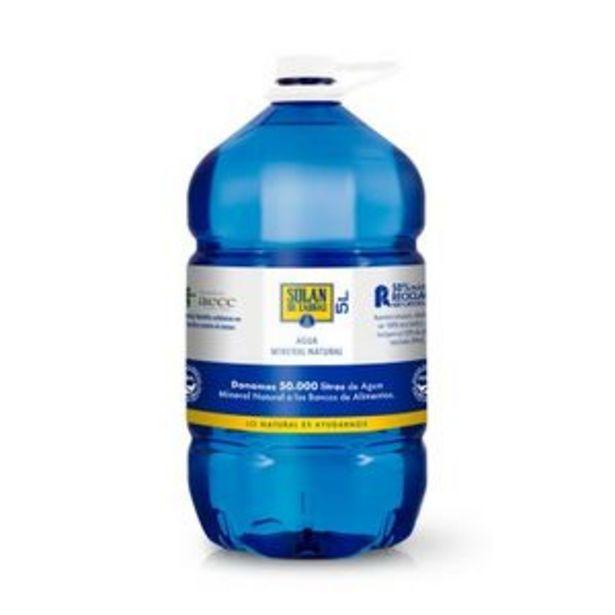 Oferta de Agua mineral natural 5 l por 1,95€