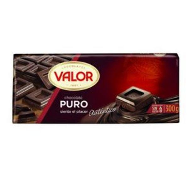 Oferta de Chocolate puro 300 g por 2,69€