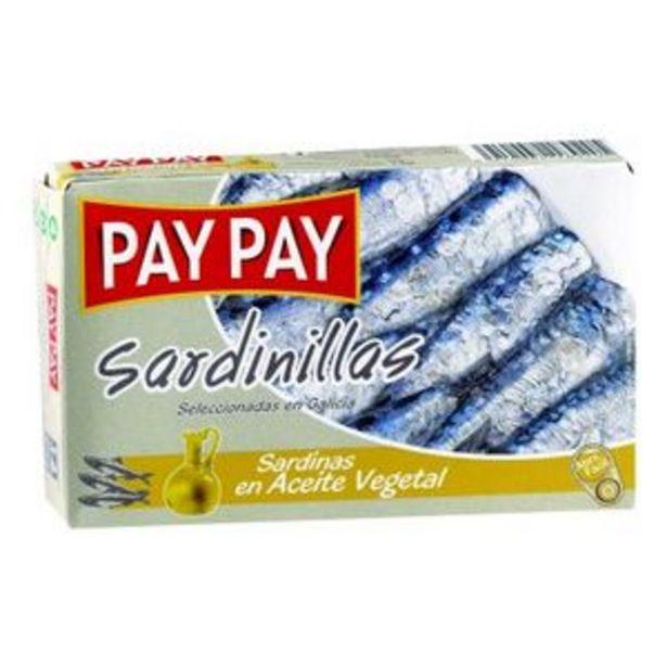Oferta de Sardinilla en aceite vegetal 90 g por 1,49€