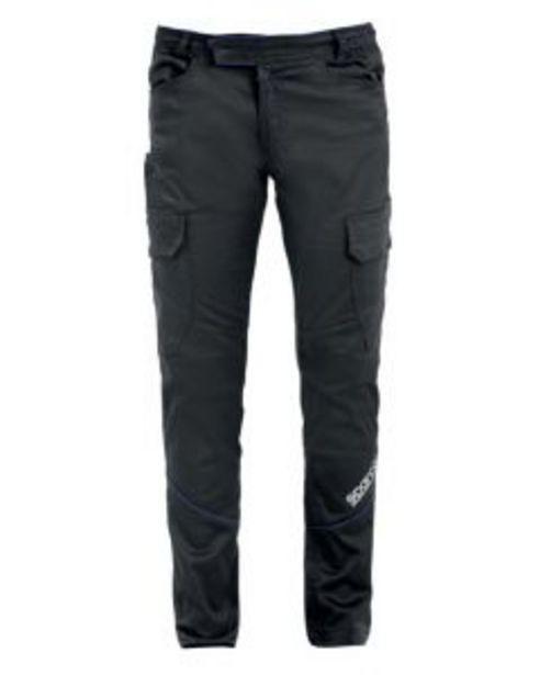 Oferta de Pantalon trabajo multibolsillo xl algodón/elastano gris boston sparco por 48,34€
