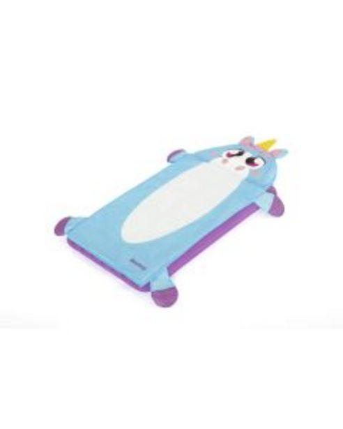 Oferta de Saco dormir infantil con colchon hinchable con base 132x76x10cm unicorn bestway por 29,95€