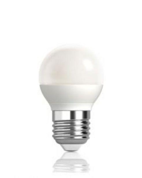 Oferta de Lampara iluminacion esferica led mate megaled e27 4,5w 2700k gig27e-g45-45w por 2,36€