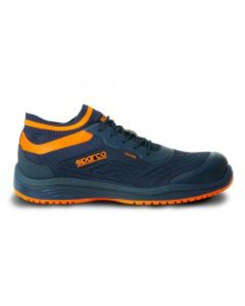 Oferta de Zapato seguridad s1p-src-esd puntera carbono t39 azul/naranja legend sparco por 106,18€