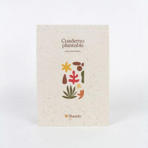 Oferta de Cuaderno Eco-Friendly plantable por 11,95€