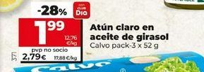 Oferta de Atún claro en aceite de girasol clavo por 1,99€