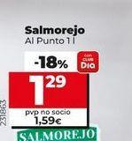 Oferta de Salmorejo Al punto  por 1,29€