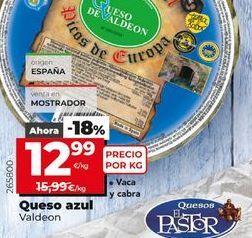 Oferta de Queso azul Valdeon  por 12,99€