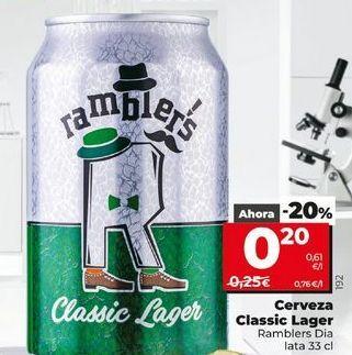 Oferta de Cerveza Classic lager  Dia por 0,2€