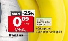 Oferta de Bananas por 0,89€