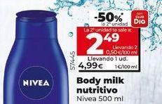 Oferta de Body milk por 4,99€