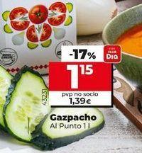 Oferta de Gazpacho Al Punto  por 1,15€