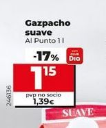 Oferta de Gazpacho suave Al  Punto  por 1,15€