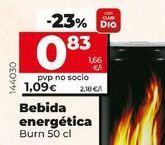 Oferta de Bebida energética Burn por 0,83€