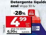 Oferta de Detergente líquido azul WiPP Express por 4,99€