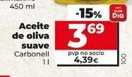 Oferta de Aceite de oliva Carbonell por 3,69€