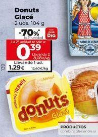 Oferta de Donuts glace por 1,29€