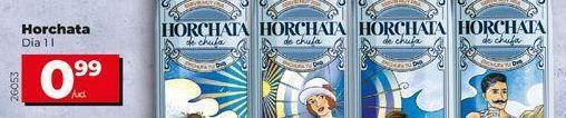 Oferta de Horchata por 0,99€