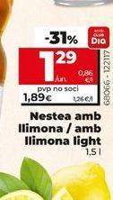 Oferta de Nestea con limón/con limón light por 1,29€