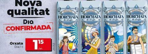 Oferta de Horchata por 1,15€