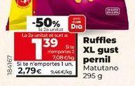 Oferta de Ruffles XL sabor jamón  por 2,79€
