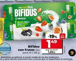 Oferta de Bifrutas con frutas  Dia por 1,49€