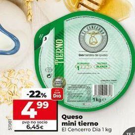 Oferta de Queso mini tierno El Cencerro  por 4,99€