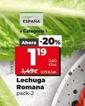 Oferta de Lechuga Romana  por 1,19€