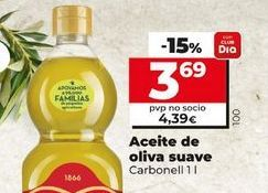 Oferta de Aceite de oliva sauve Carbonell por 3,69€