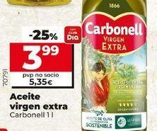 Oferta de Aceite de oliva virgen extra Carbonell por 3,99€
