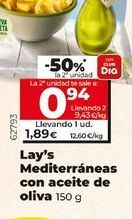 Oferta de Lay's Mediterráneo con aceite de oliva  por 1,89€