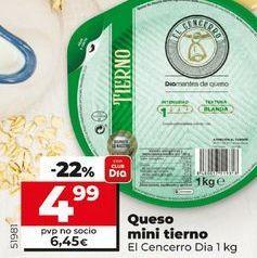 Oferta de Queso mini tierno de cabra El Cencerro  por 4,99€