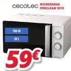 Oferta de Microondas cecotec por 59€