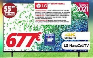 Oferta de Tv led LG por 677€