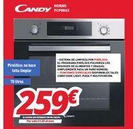 Oferta de Hornos Candy por 259€