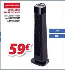 Oferta de Ventiladores Rowenta por 59€