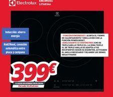 Oferta de Encimera de cocina Electrolux por 399€