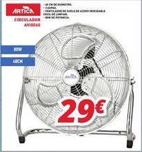 Oferta de Ventiladores Artic por 29€