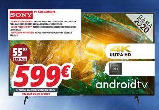 Oferta de Smart tv Sony por 599€