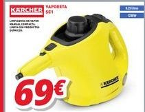 Oferta de Vaporizador Kärcher por 69€