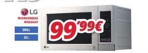 Oferta de Microondas LG por 99,99€