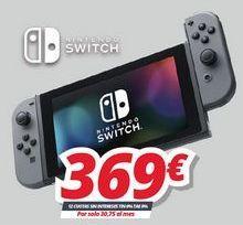 Oferta de Nintendo Switch Nintendo por 369€