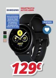 Oferta de Smartwatch Samsung por 129€