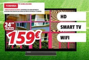 Oferta de Smart tv Toshiba por 159€