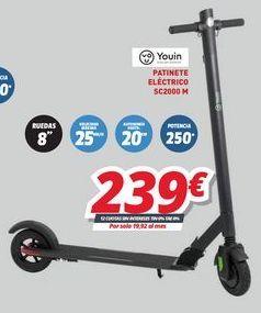 Oferta de Patinete eléctrico por 239€