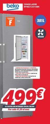 Oferta de Congeladores por 499€