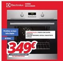Oferta de Hornos Electrolux por 349€