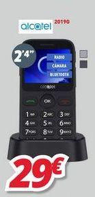 Oferta de Teléfono móvil Alcatel por 29€
