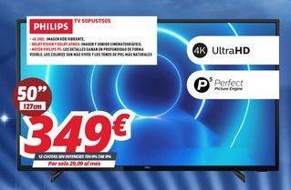 Oferta de Smart tv Philips por 349€